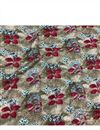 image of Designer Flowers And Leaves Print On Rayon Fabric