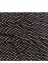 image of Eyes Print On Rayon Fabric In Black Color