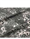 photo of Muslin Digital Print Fabric In Black