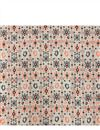 photo of Cream Rayon Fabric With Abstract Prints