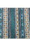 photo of Digital Print Rayon Fabric In Blue With Butterfly Prints