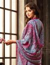 photo of Grey Color Casual Wear Salwar Kameez In Fancy Fabric With Digital Print
