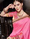 photo of Function Wear Fancy Art Silk Designer Saree In Pink