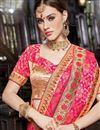 photo of Light Wine Art Silk Embellished Designer Fancy Saree