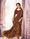 photo of Crepe And Art Silk Daily Wear Printed Saree