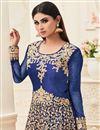 photo of Wedding Special Mouni Roy Asymmetric Anarkali Dress in Banarasi Silk