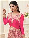 photo of Wedding Special Mouni Roy Banarasi Silk Designer Anarkali Salwar Suit