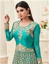 photo of Wedding Special Mouni Roy Asymmetric Anarkali Salwar Kameez In Banarasi Silk
