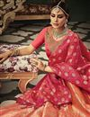 photo of Wedding Special Wedding Function Wear Traditional Pink Color Banarasi Silk Lehenga Choli
