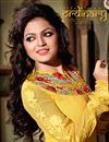 photo of Drashti Dhami Georgette Anarkali Salwar Suit
