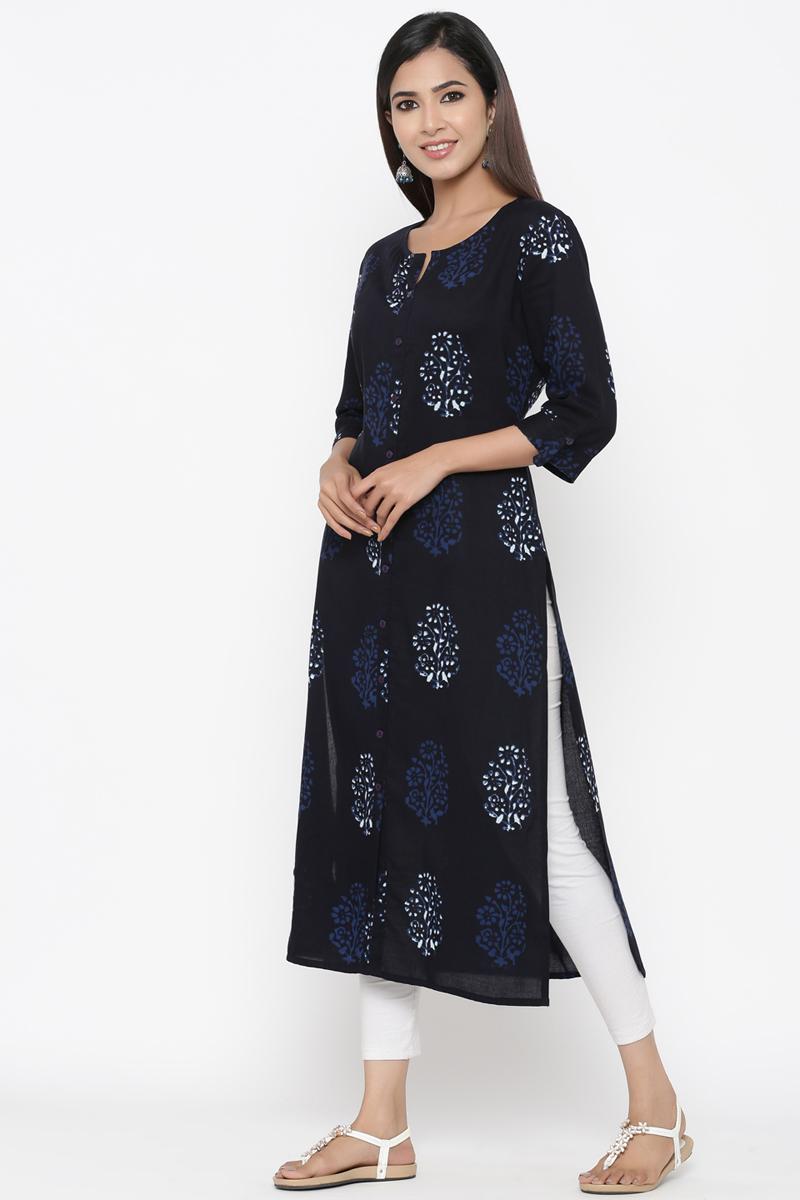 Exclusive Black Color Anarkali Kurti