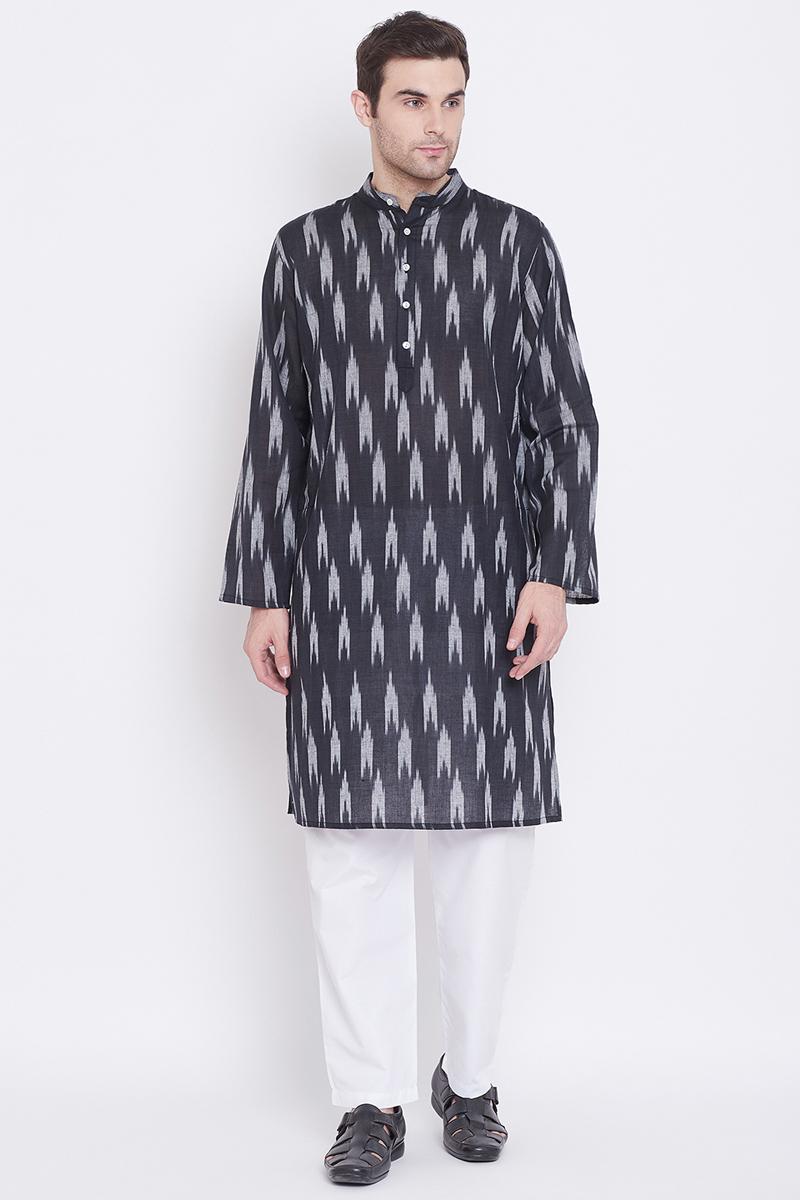 Sangeet Wear Cotton Fabric Kurta Pyjama