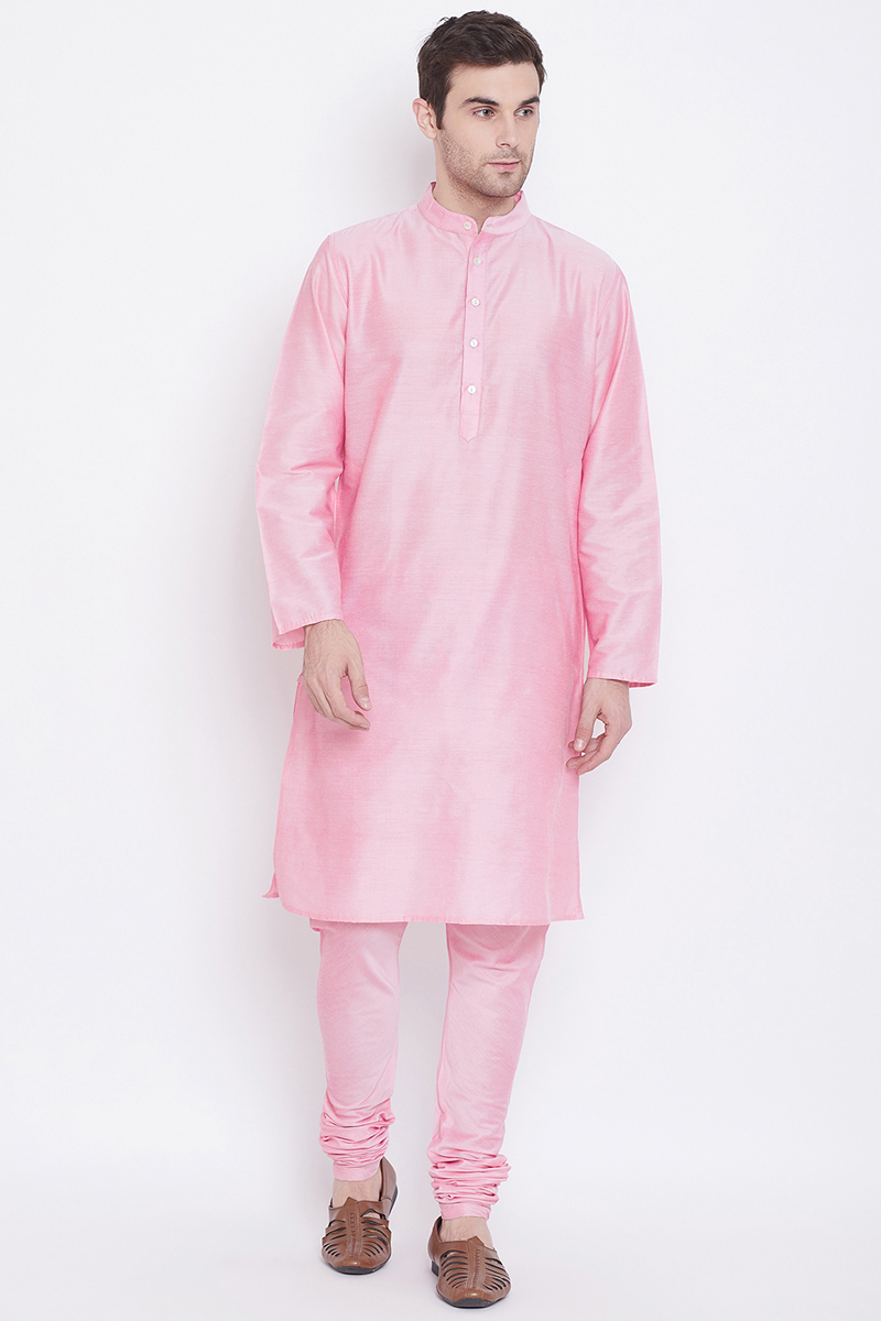 Art Silk Fabric Function Wear Kurta Pyjama