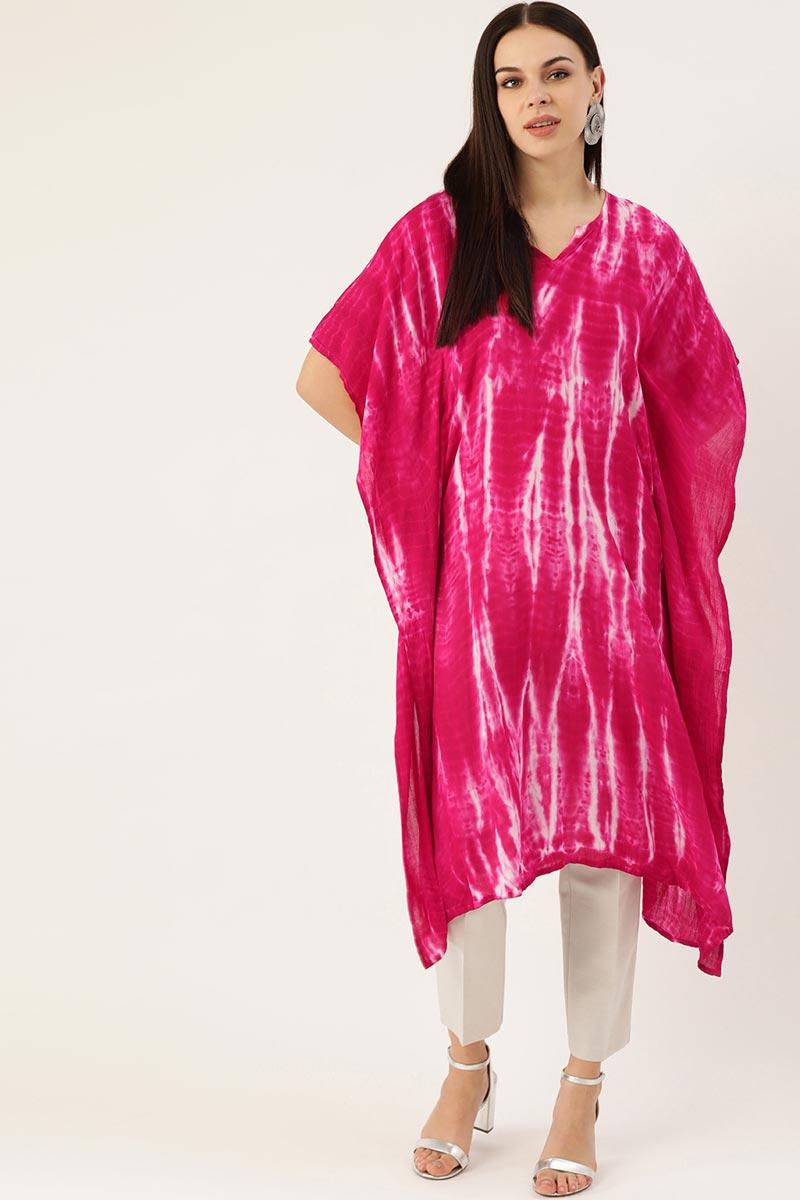 Exclusive Cotton Fabric Office Wear Designer Kaftan Kurti