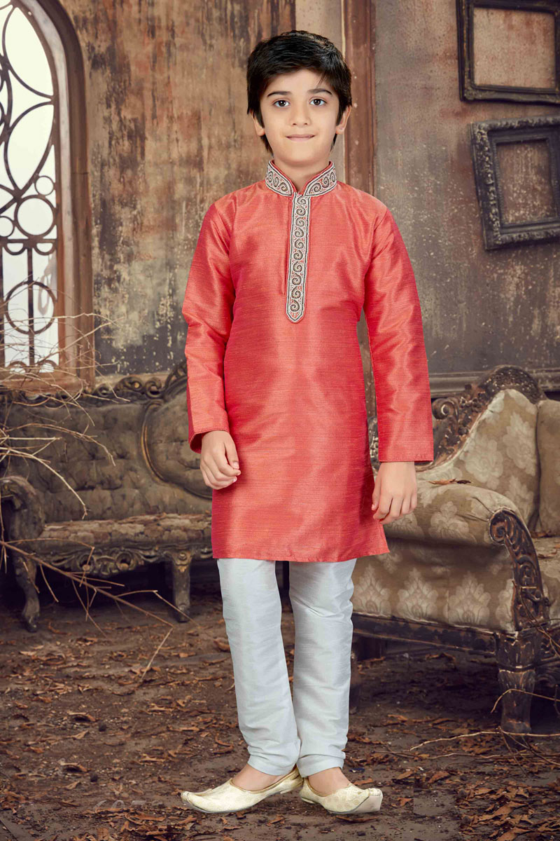 Banglori Silk Function Wear Boys Kurta Pyjama