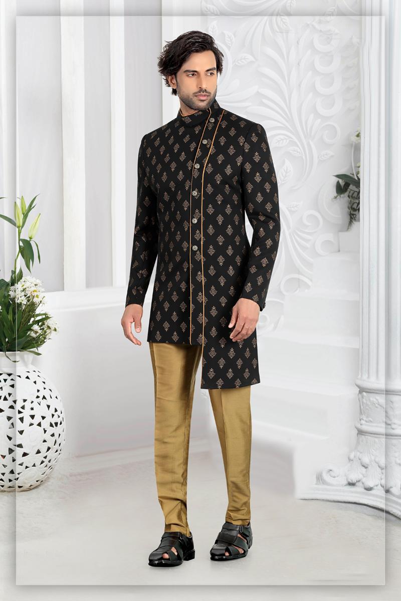 Function Wear Rayon Fabric Indowestern