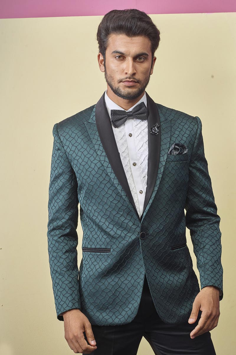 Light Turquoise Color Fancy Fabric Readymade Designer Suit