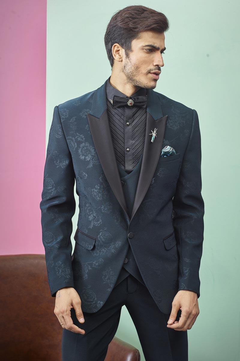 Fancy Fabric Function Wear Readymade Designer Suit