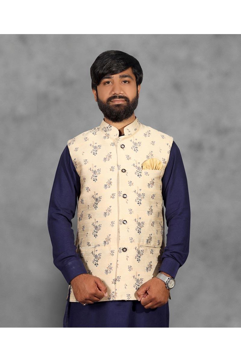 Mens Function Wear Beige Color Designer Jacket