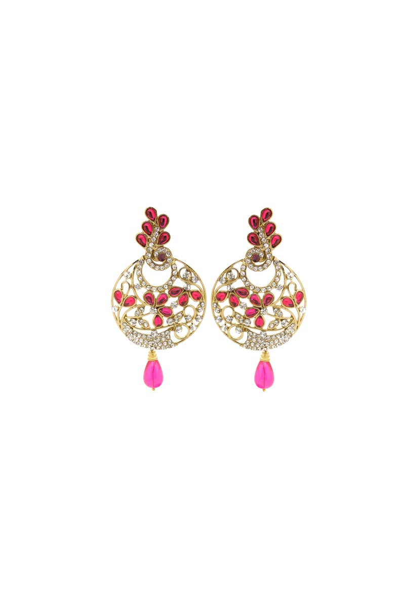 Rani Color Brass Material Function Wear Earrings