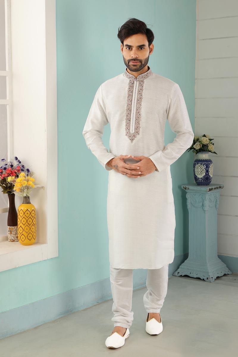 Function Wear Kurta Pyjama For Men