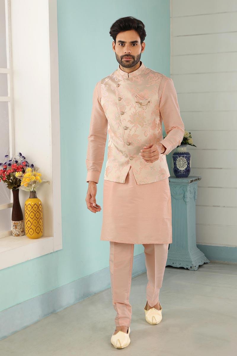 Function Wear Designer Kurta Pyjama For Men