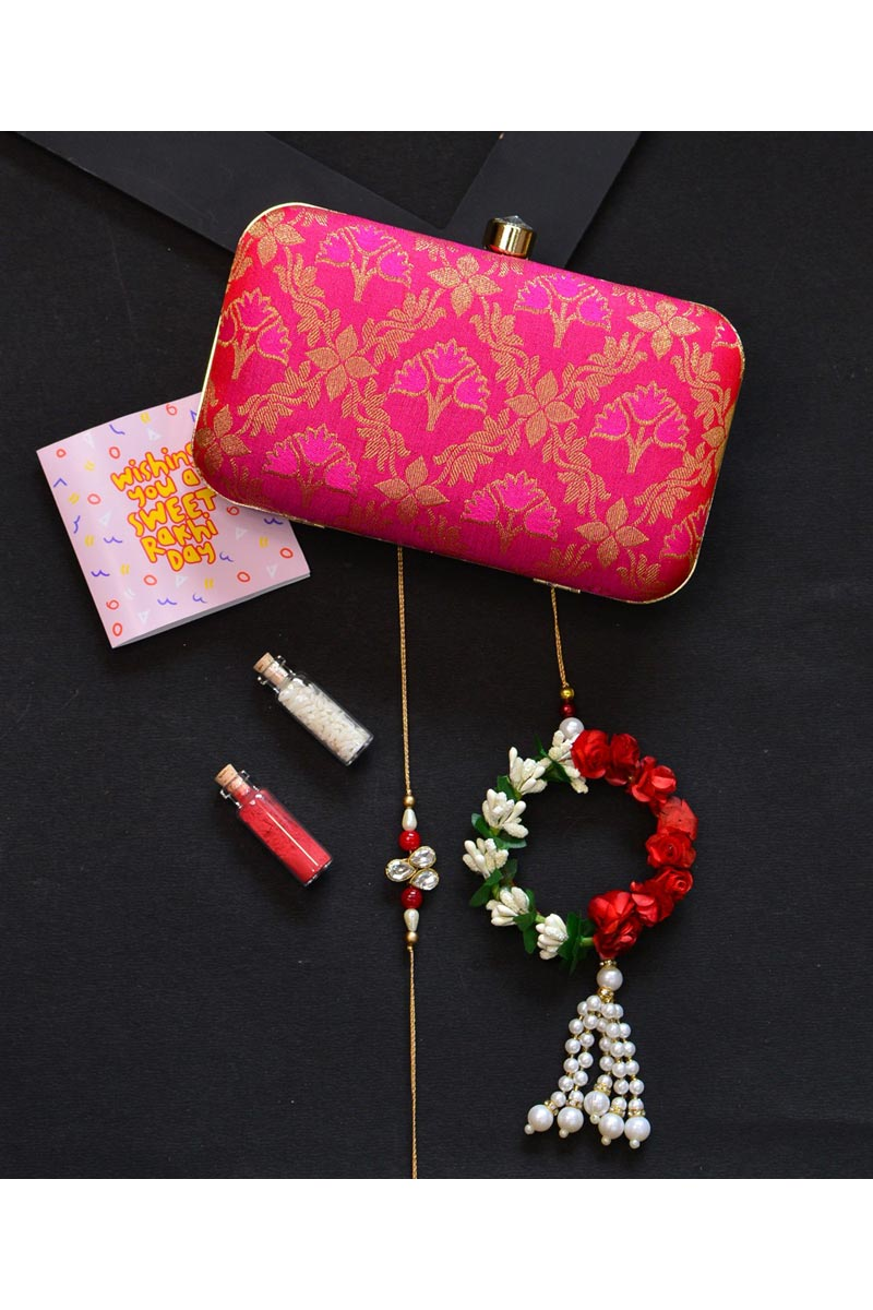 Rani Party Style Designer Clutch Bag For Women