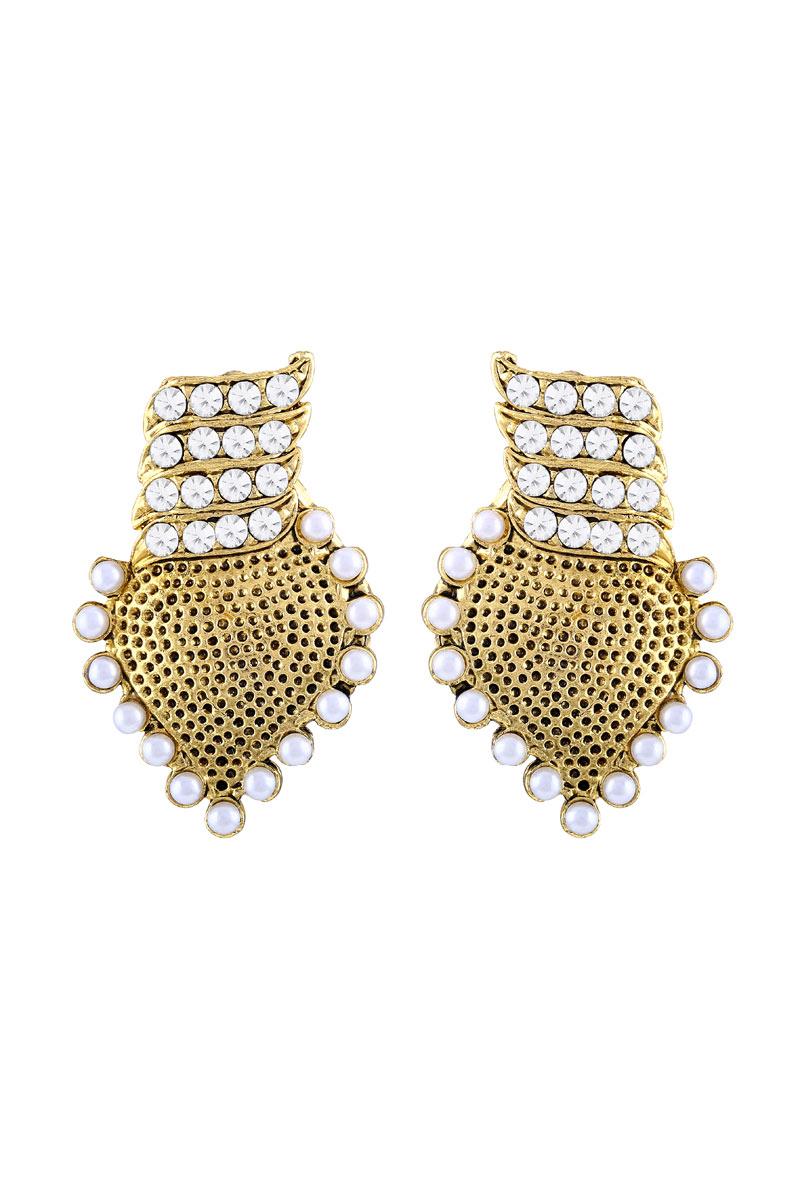 Golden Plated Earring For Women