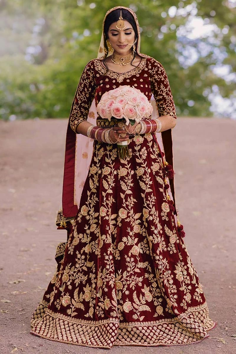 Party Wear Embroidered Floor Touch Anarkali Suit
