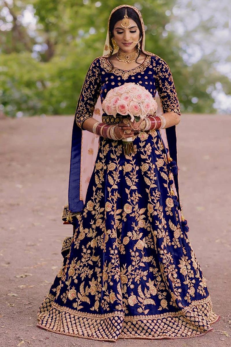 Festive Wear Floor Touch Anarkali Salwar Suit