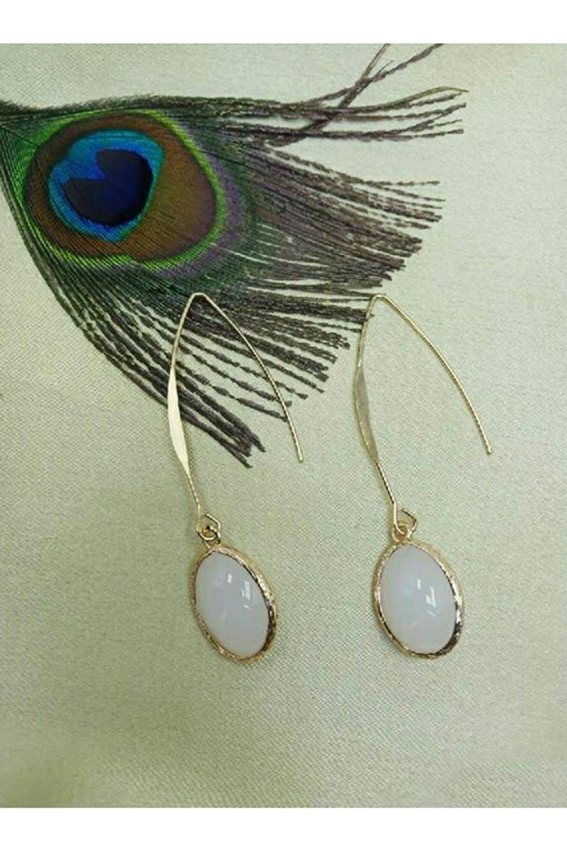 Party Style Golden Color Fancy Earrings